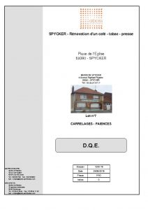 thumbnail of LOT 07 – DPGF CARRELAGES FAIENCES